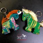 Sleutelhanger tashanger handgemaakt thaise stijl paardje